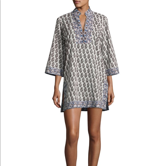 1cd2e1675f NWT Tory Burch Scultura Beach Tunic Coverup